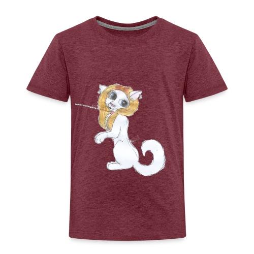 Comic Katze - Kinder Premium T-Shirt