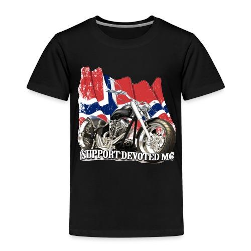 SUPPORT STREETWARE FLAG1 - Premium T-skjorte for barn