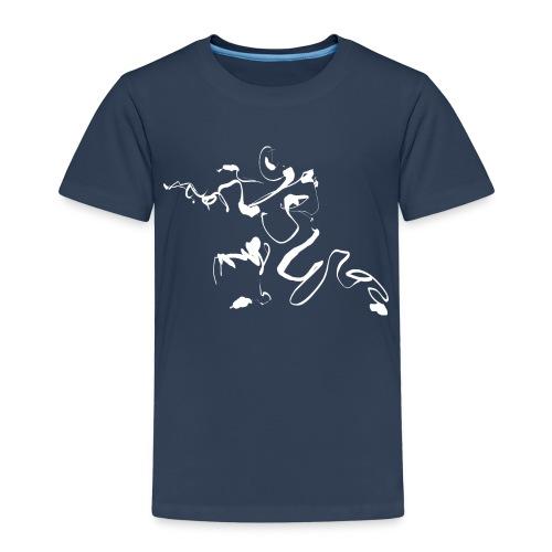 Kungfu - Deepstance Kung-fu figure - Kids' Premium T-Shirt