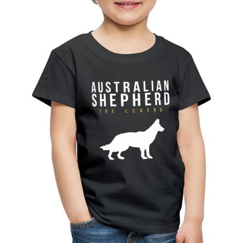 Australian Shepherd Legendär Dog Hund - Kinder Premium T-Shirt