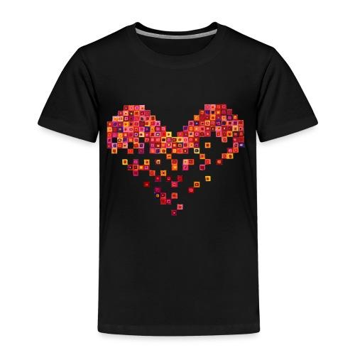 Broken Heart - Gebrochenes Herz - Kinder Premium T-Shirt