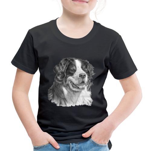 Bernese mountain dog - Børne premium T-shirt