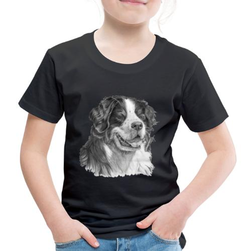Bernese mountain dog - Børne premium T-shirt