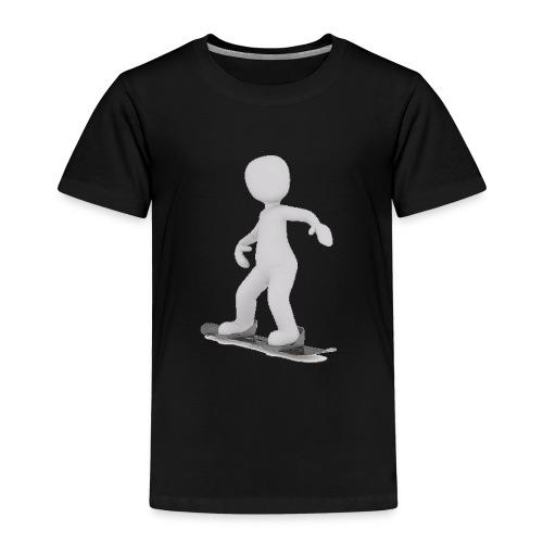LULU FAIT DU SNOWBOARD - T-shirt Premium Enfant
