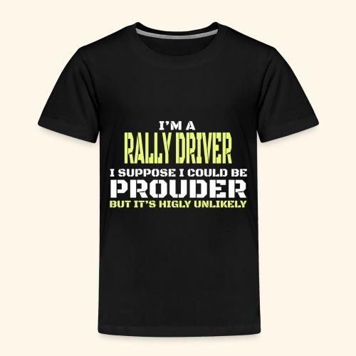 RALLY - Maglietta Premium per bambini