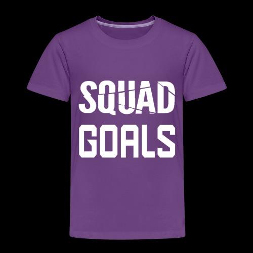 squad goals - Kinderen Premium T-shirt