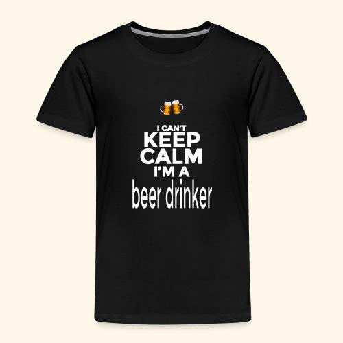 Beer drinker - Maglietta Premium per bambini