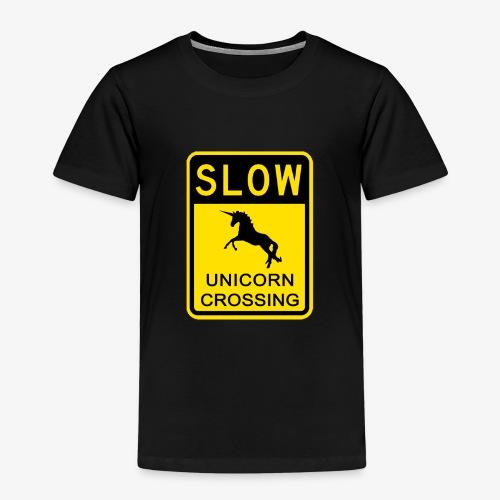 Ralentir ! Passage de licorne - T-shirt Premium Enfant