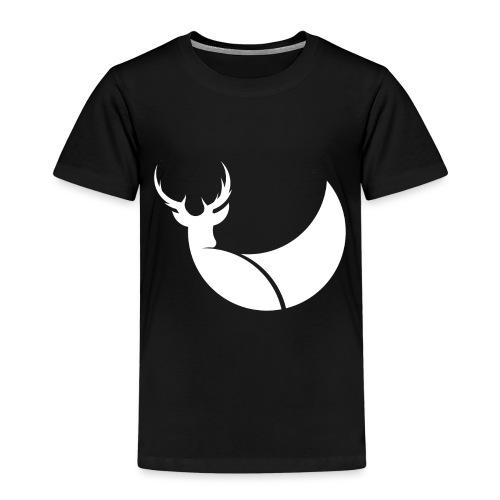 Reh Hirsch Design Logo Illustration Geschenk Idee - Kinder Premium T-Shirt