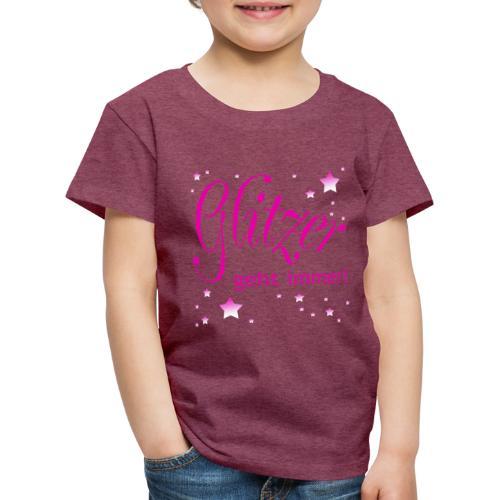 Glitzer geht immer - Kinder Premium T-Shirt