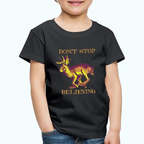 Wolpertinger lives - Kids' Premium T-Shirt