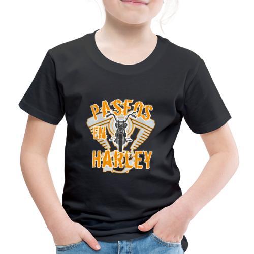 Paseos en H a r l e y - Camiseta premium niño