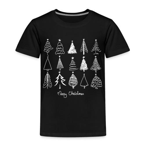 Merry Christmas Sapins de Noël - T-shirt Premium Enfant