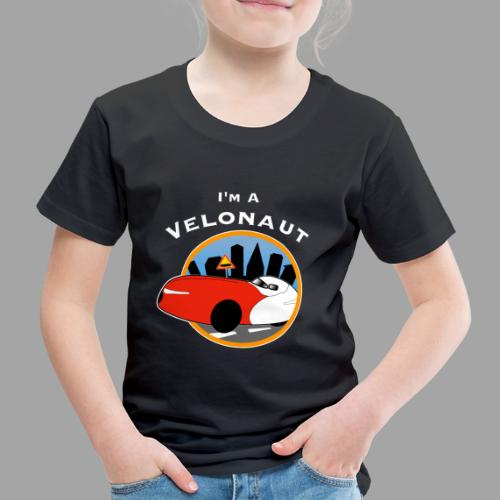 Im a velonaut - Lasten premium t-paita