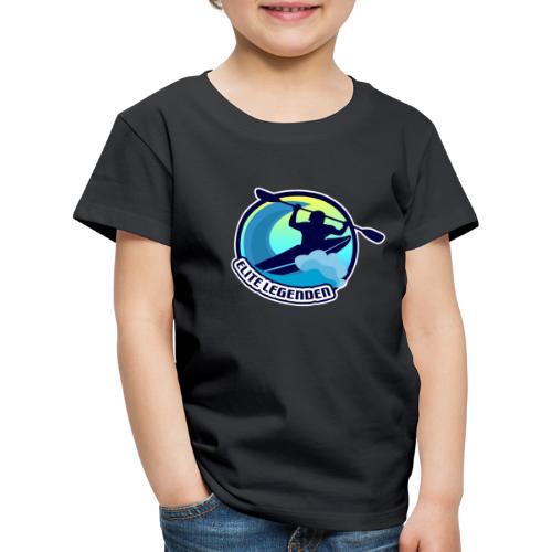 Elitelegenden blau-weiß - Kinder Premium T-Shirt