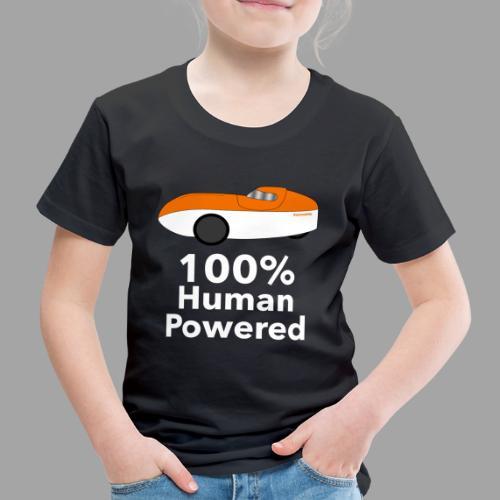 Human Powered WAW - Lasten premium t-paita