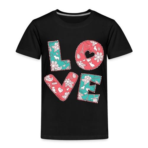 loveblume2 png - Kinder Premium T-Shirt
