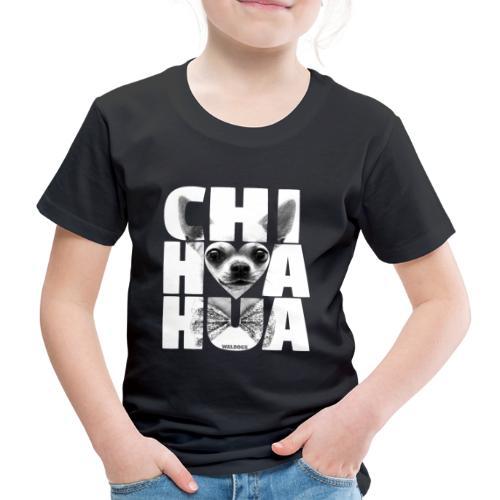 NASSU Chihuahua Grey - Lasten premium t-paita