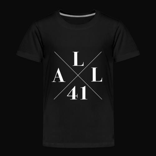 ALLx41 white edition - Lasten premium t-paita