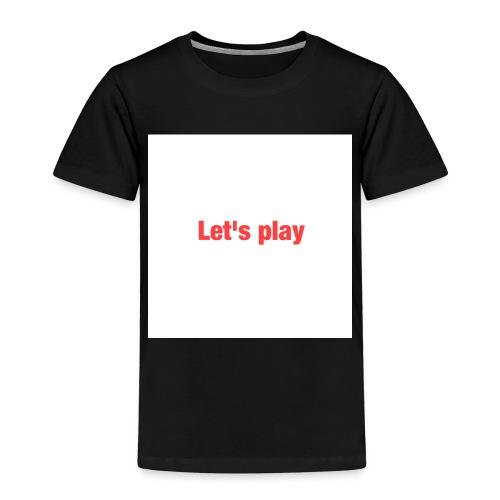 Let's play - Kids' Premium T-Shirt