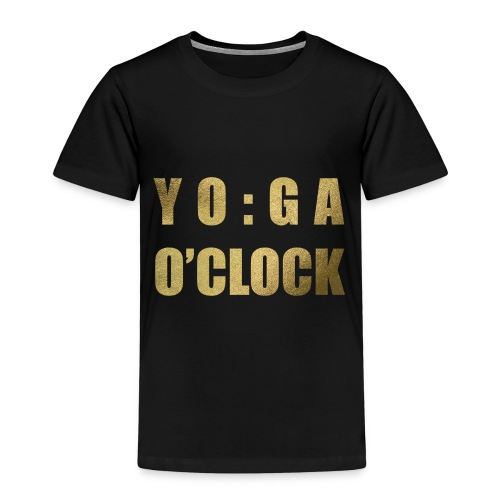 YOGA o'clock - Kinderen Premium T-shirt