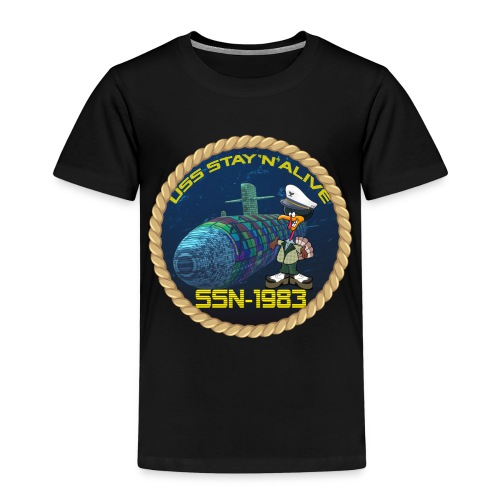Command Badge SSN-1983 - Kids' Premium T-Shirt