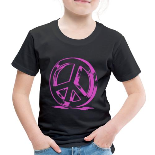 Peace and Love - T-shirt Premium Enfant