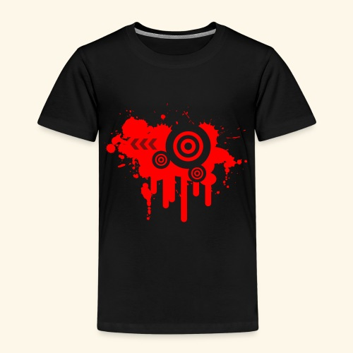 Grunge Vector Red! - Kids' Premium T-Shirt