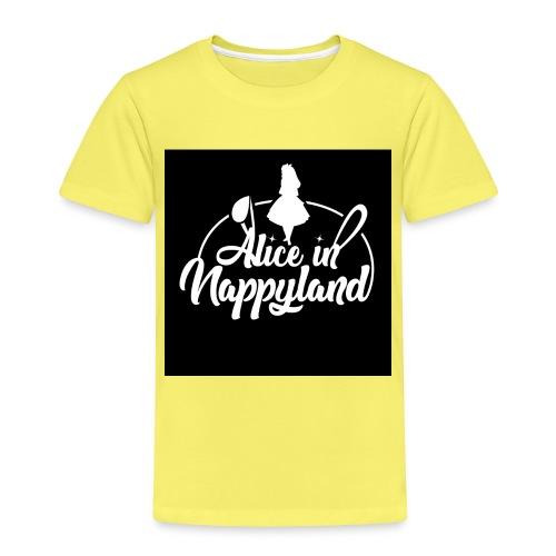 Alice in Nappyland TypographyWhite 1080 - Kids' Premium T-Shirt