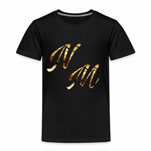Gold NAAMedia Logo - Kids' Premium T-Shirt