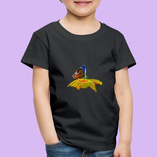 Farfalla su corolla - Maglietta Premium per bambini