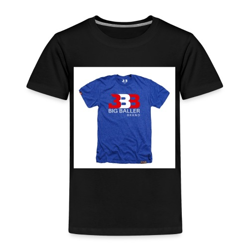 ClassicBBBroyalredwhite 1024x1024 - Kinderen Premium T-shirt