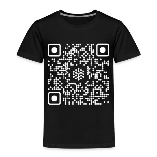 QR Safenetforum White - Kids' Premium T-Shirt