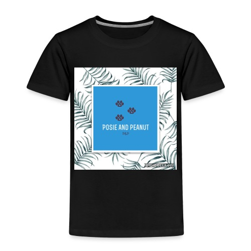 palm pooch design - Kids' Premium T-Shirt