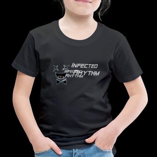 Infected Rhythm Logo Schr - Kinder Premium T-Shirt