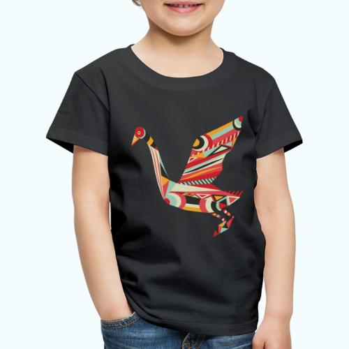 Origami bird Japanese - Kids' Premium T-Shirt