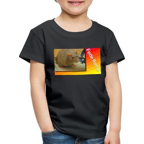 Fede Rotte - Børne premium T-shirt
