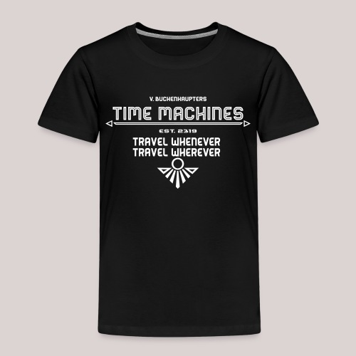 Time Machine - Kinder Premium T-Shirt