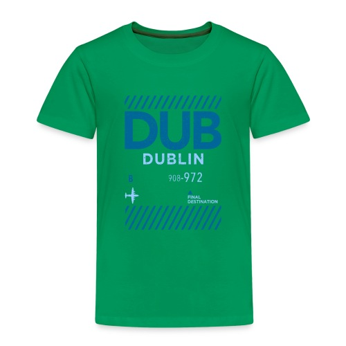 Dublin Ireland Travel - Kids' Premium T-Shirt