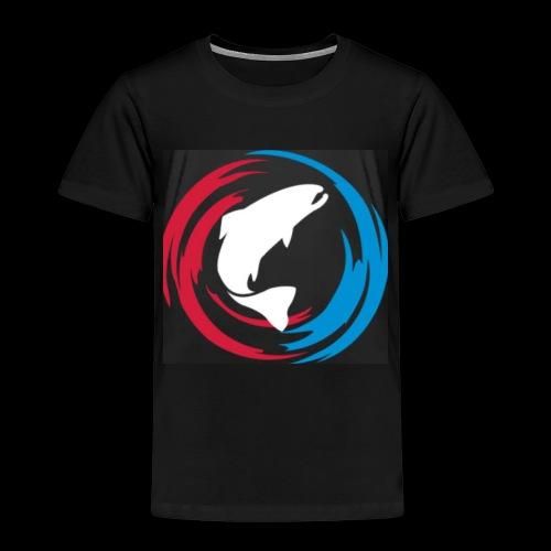 Logo Fisk - Premium-T-shirt barn