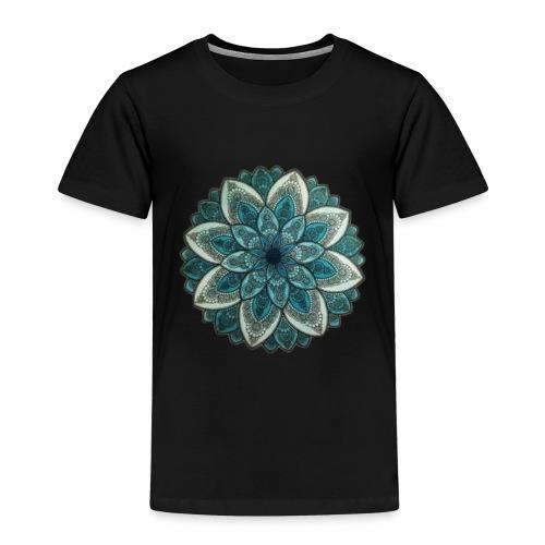 4908F6BC D05C 490F B156 E336E2874217 Mandala Green - Premium T-skjorte for barn