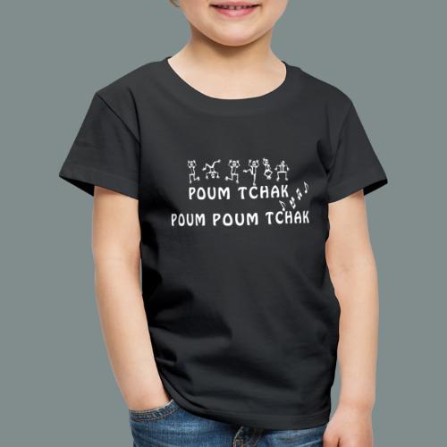 Batterie poum tchak - idee cadeau batteur - T-shirt Premium Enfant