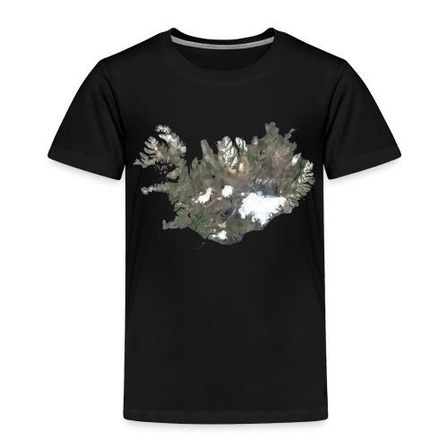 Island Karte Low Poly Stil - Kinder Premium T-Shirt