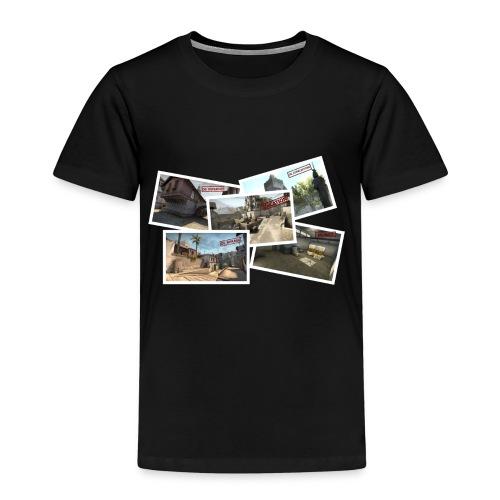 DE TOURIST png - Kids' Premium T-Shirt