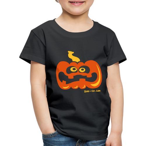 Scared Pumpkin - Kids' Premium T-Shirt