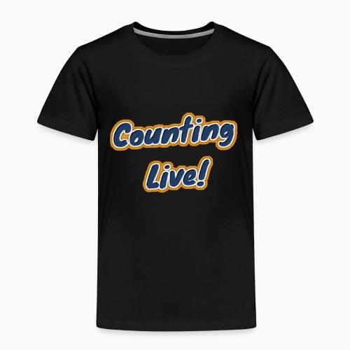 Counting Live: - Kinderen Premium T-shirt