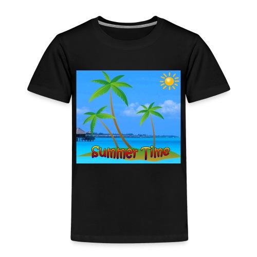 Cool summer coconu - Kinderen Premium T-shirt