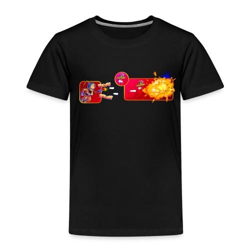 pew pew ladies royal blue - Kids' Premium T-Shirt