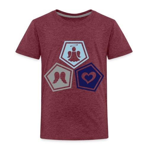 Tee shirt baseball Enfant Trio ange, ailes d'ange - Kids' Premium T-Shirt