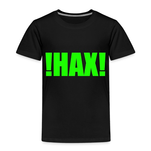 HAX-shirt by BOT SHELL - Kinder Premium T-Shirt